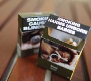 Plain cigarette packaging comes into force
