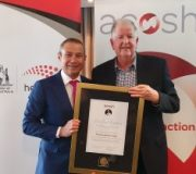 Former WA Health Minister Barry Hodge honoured as tobacco control champion
