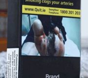 Plain cigarette packaging hits shelves across Republic
