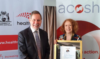Major award recognises leadership in WA tobacco control